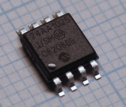 24AA1025 1024 Kilobits serial I<sup>2</sup>C EEPROM