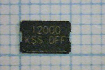 12.000MHz 5.0 x 3.2 mm