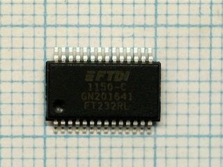 FT232RL USB to serial UART