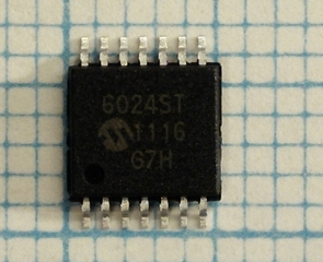 MCP6024-I rail2rail CMOS quad Low Power Opamp 10Mhz