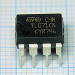 TL071CN <b>PDIP</b> Low noise J-FET opamp