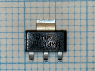 Z0109MN Logic L Triac 1A/10mA@4 quadrants  600V/1A/5mA