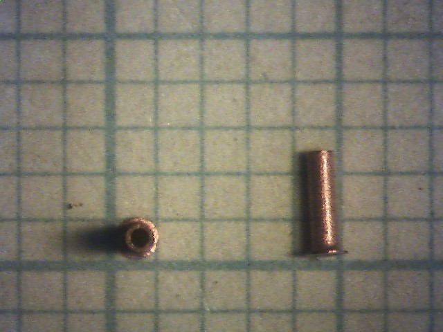 50 klinknageltjes 0,4/0,6 mm