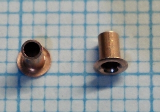 50 klinknageltjes 1,2/1,6mm
