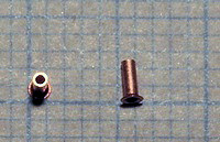 50 rivets 0,6/0,8 mm